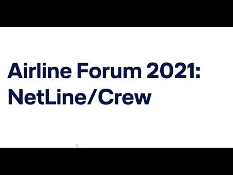 Airline Forum virtual - Bernhard Brugger on NetLine/Crew / Lufthansa Systems