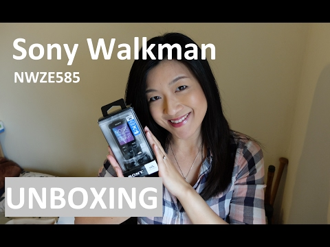 Unboxing: Sony Walkman NWZE585 | Yuenny Lam