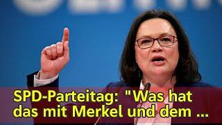 SPD-Parteitag: