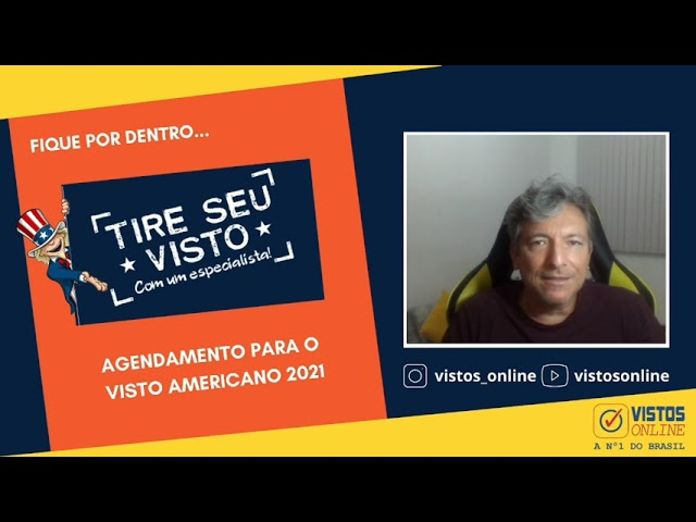 AGENDAMENTO DE VISTO AMERICANO 2021 - #agendamentovistoamericano #estadosunidos #vistosonline