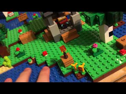 Lego Minecraft World Update 15 Custom Layout Review Youtube