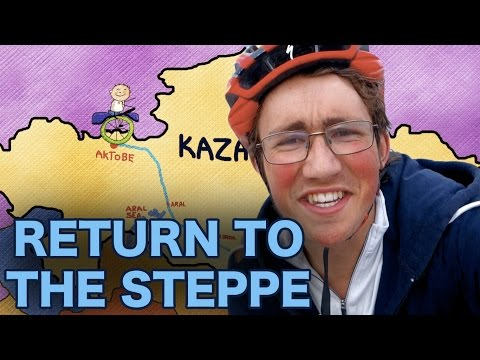 Return To The Steppe (Unicycling Across Kazakhstan)  - Trailer