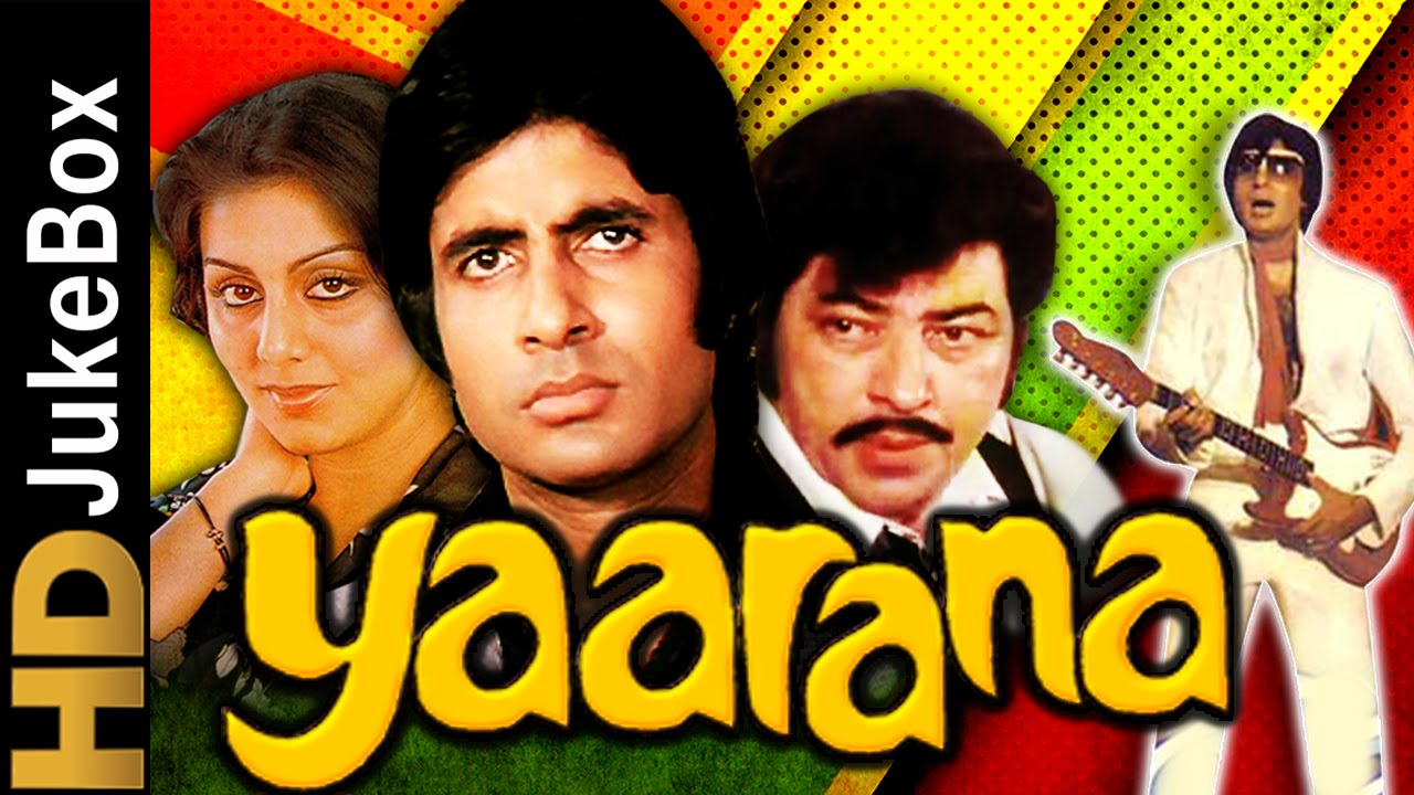 Yaarana 1981 Full Video Songs Jukebox Amitabh Bachchan Neetu