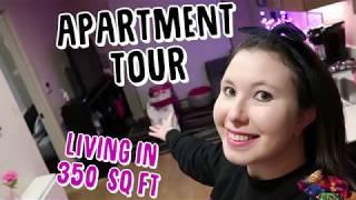 Apartment Tour : Living in 350 Sq Ft