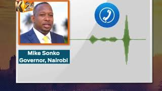 Sonko relocates office to Machakos, claims his life in danger