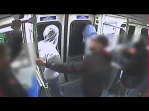 WARNING!! SHOOTING IN THE SOUTH BRONX ON 4 TRAIN CAUGHT ON TAPE