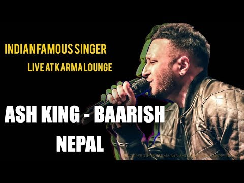 Ash King - Baarish | Half Girlfriend | LIVE AT KARMA |