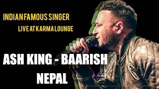 Ash King Baarish Half Girlfriend Live At Karma