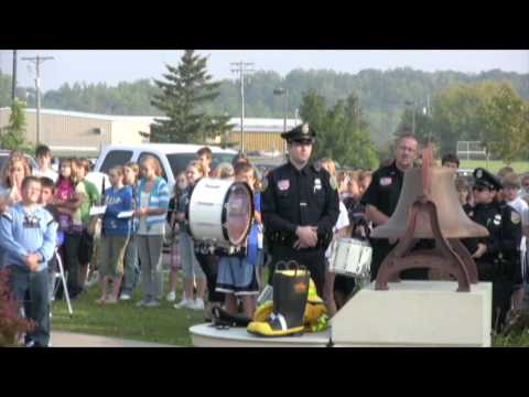 9/11 Tribute at Amery Intermediate School