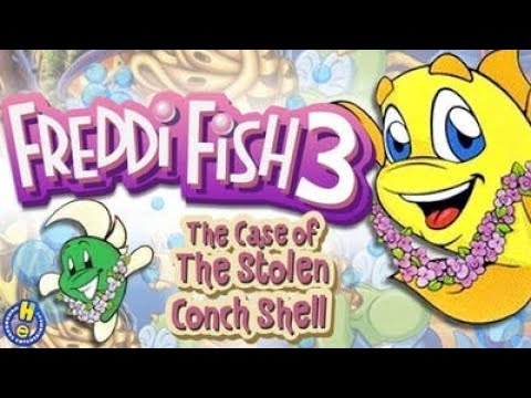 Freddi Fish 3: The Case Of The Stolen Conch Shell - All Parts - Full Gameplay/Walkthrough (Longplay)