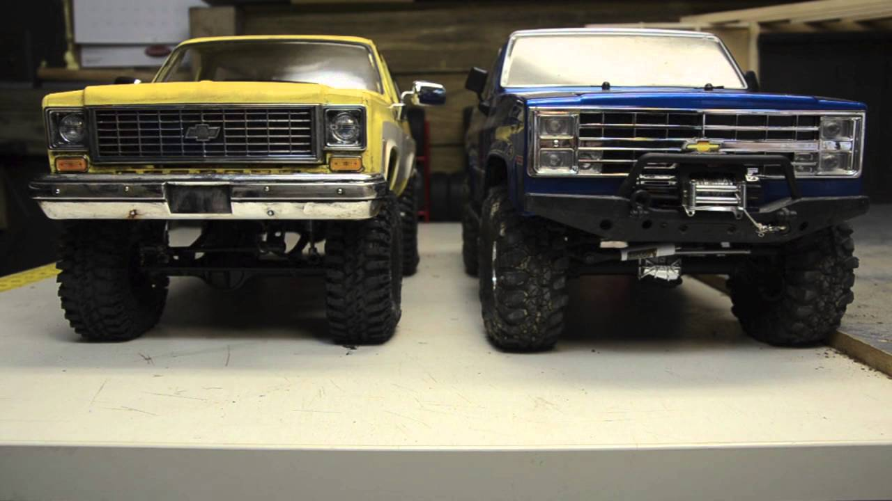 How Big Is It Really, RC4wd Chevy K5 Blazer and Vaterra ...