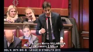 """Alessio Villarosa (M5S): """"Non ne posso più di un governo che calpesta gli imprenditori"""""""