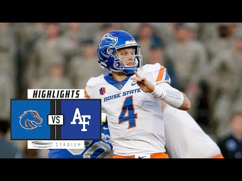 Boise State vs. Air Force Football Highlights (2018) | Stadium