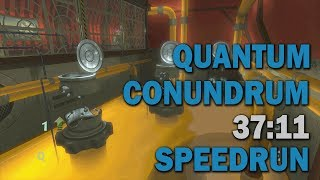 Quantum Conundrum :: Any% Speedrun - 37:11