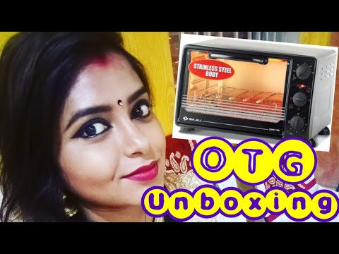 OTG || Unboxing || Bajaj 2200 TMSS OVEN TOASTER GRILL - 22 Litre