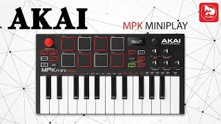 3 в 1: AKAI MPK Mini Play - Midi клавиатура, контроллер и синтезатор.