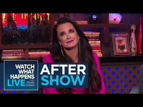 After : Kyle Richards On Kylie Jenner's Pregnancy  RHOBH  WWHL