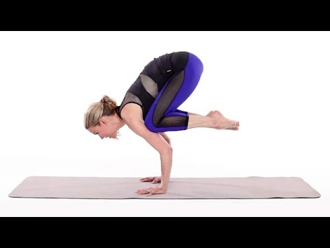 how to do crow pose  health  youtube