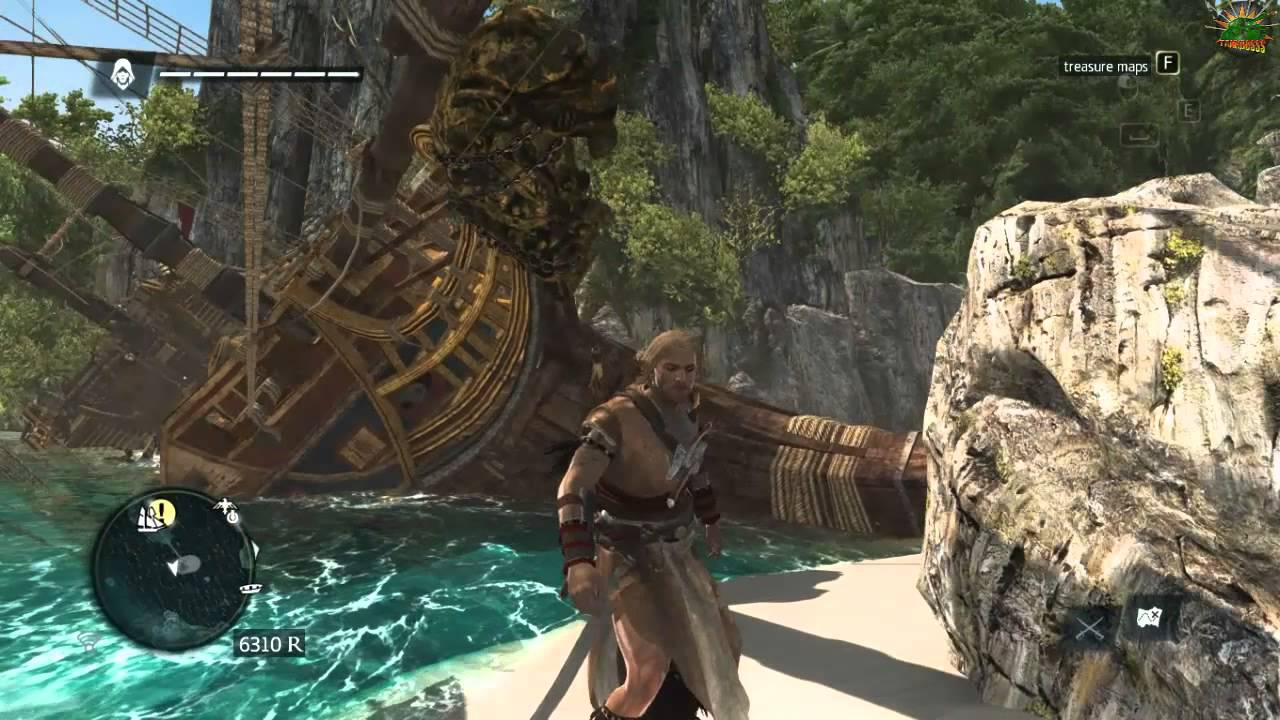 AC4 Glitched ship And Finding a White Whale