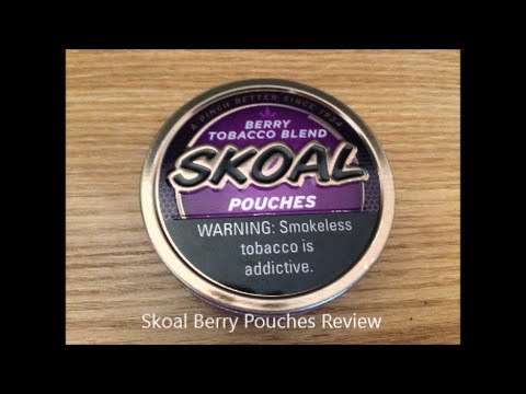 Skoal Berry Pouches Review - YouTube