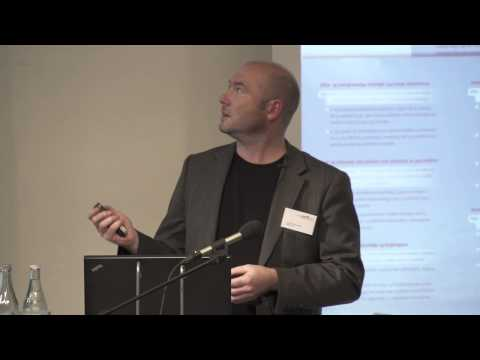 Arkitekturkonference 2013. Direktør Andreas Vaa Bermann, Norsk Form