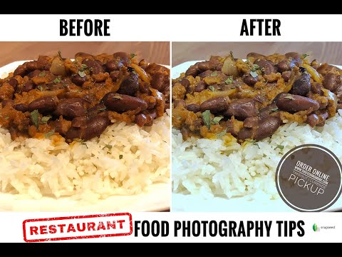 Create and Share Better Food Photography For Your RESTAURANT During REDUCED SERVICES