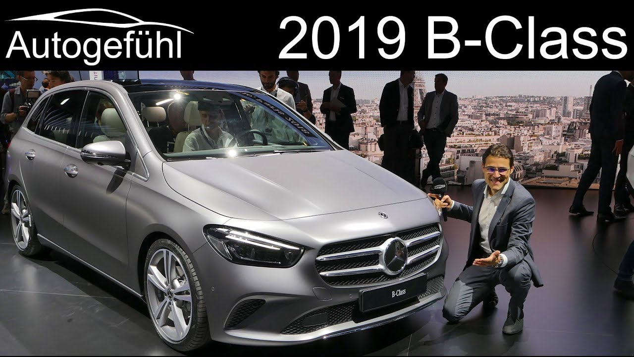 all new mercedes b class review premiere 2019 bclass b klasse autogef hl youtube. Black Bedroom Furniture Sets. Home Design Ideas