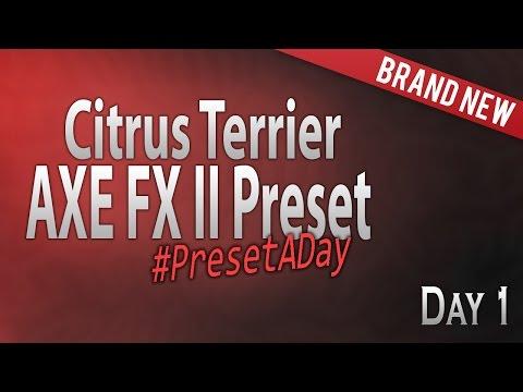 #PresetADay - Citrus Terrier - AXE FX II / AX8 (June 2016)