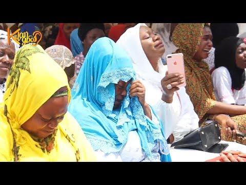 Mammoth crowd at Fidau Prayer For Sheikh Yahya Solaty In Ilorin  { AMIR JAISH }