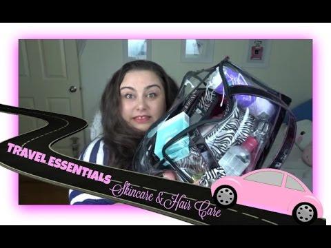 TRAVEL ESSENTIALS - Skincare & Hair Care