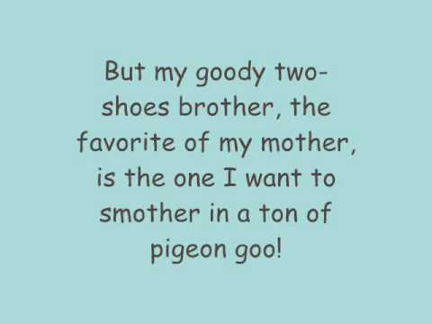 Phineas And Ferb - My Goody Two-Shoes Brother Lyrics (HQ)