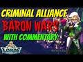 Criminal Alliance Vs CTK Fam Baron Wars! - Lords Mobile