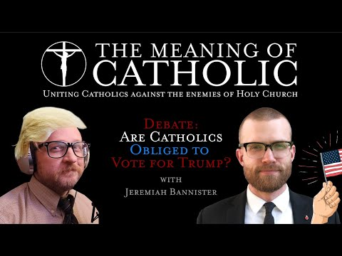 Debate: Are Catholics Obliged to Vote Red?