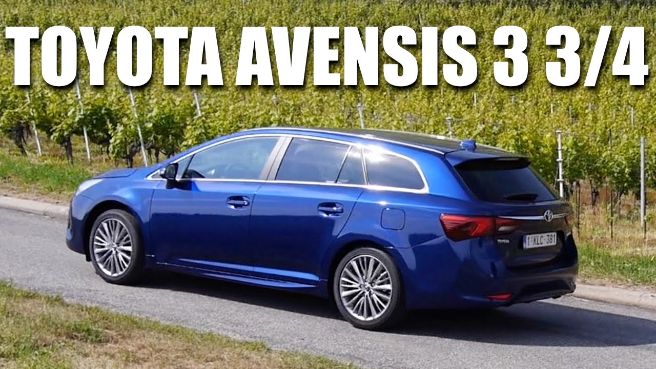 toyota avensis fl 2015 eng first test drive and review. Black Bedroom Furniture Sets. Home Design Ideas