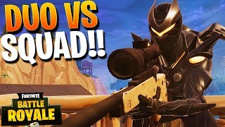 VIENEN POR TODAS PARTES!! DUO vs SQUAD | FORTNITE. Battle Royale | Rubinho vlc