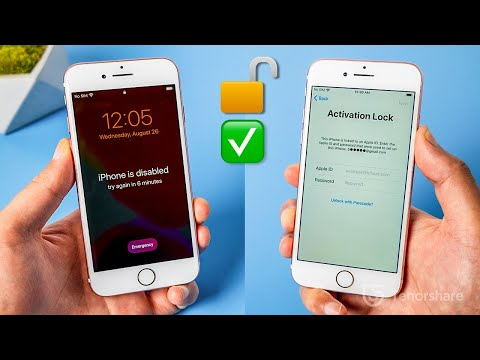 How To Unlock IPhone 7 Without Apple ID/Activation Lock