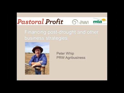 Pastoral Profit Webinar | Financing post drought