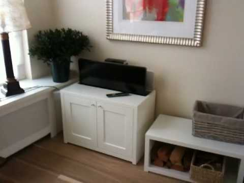 TV lift in kast - YouTube