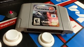 Classic Game Room - ASTEROIDS HYPER 64 review for Nintendo 64