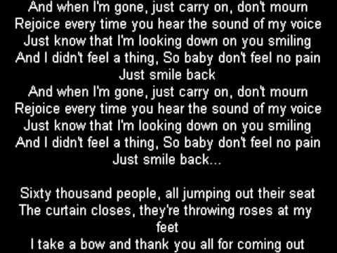 When I'm Gone (Remix) Lyrics by 2Pac - Lyrics On Demand
