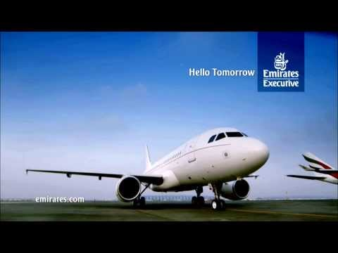 Emirates Executive: A319 Luxury Private Jet