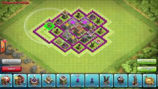 BEST Clash of Clans TOWN HALL 8 LOOT PROTECTING BASE