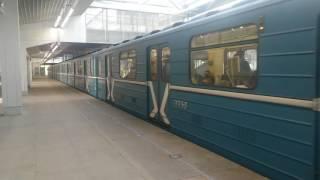 Станция  метро Технопарк!День Победы 9 мая 2016