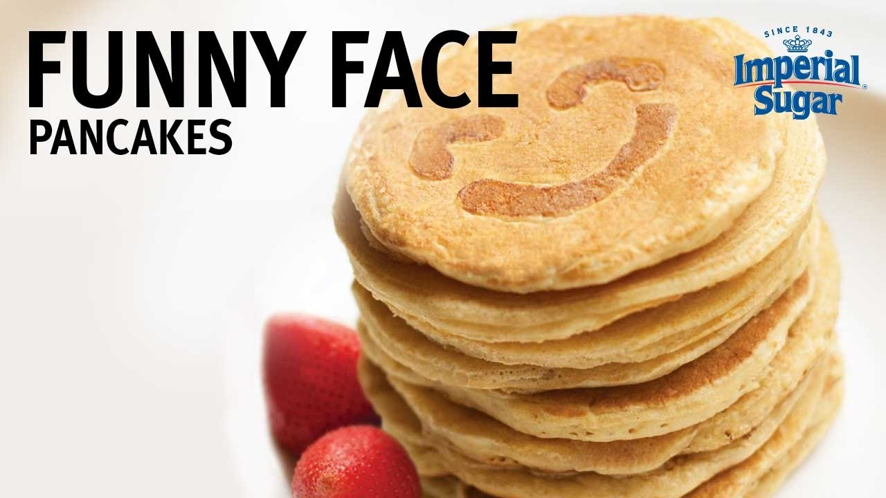 How to Make Funny Face Pancakes YouTube