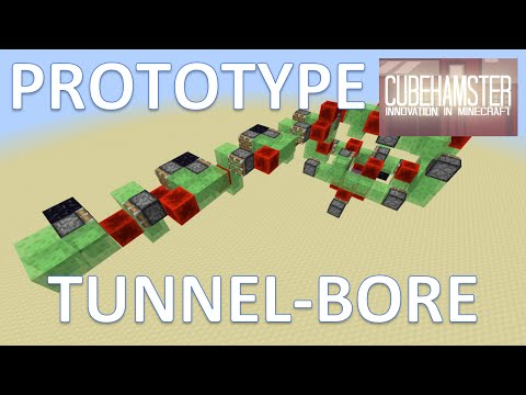 Prototype: Automatic Tunnel Bore Machine in Minecraft