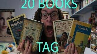 20 BOOKS TAG!