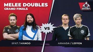 Video SFAT/Mang0 vs Armada/Leffen - Melee Doubles: Grand Finals - Smash Summit 6 download MP3, 3GP, MP4, WEBM, AVI, FLV November 2018