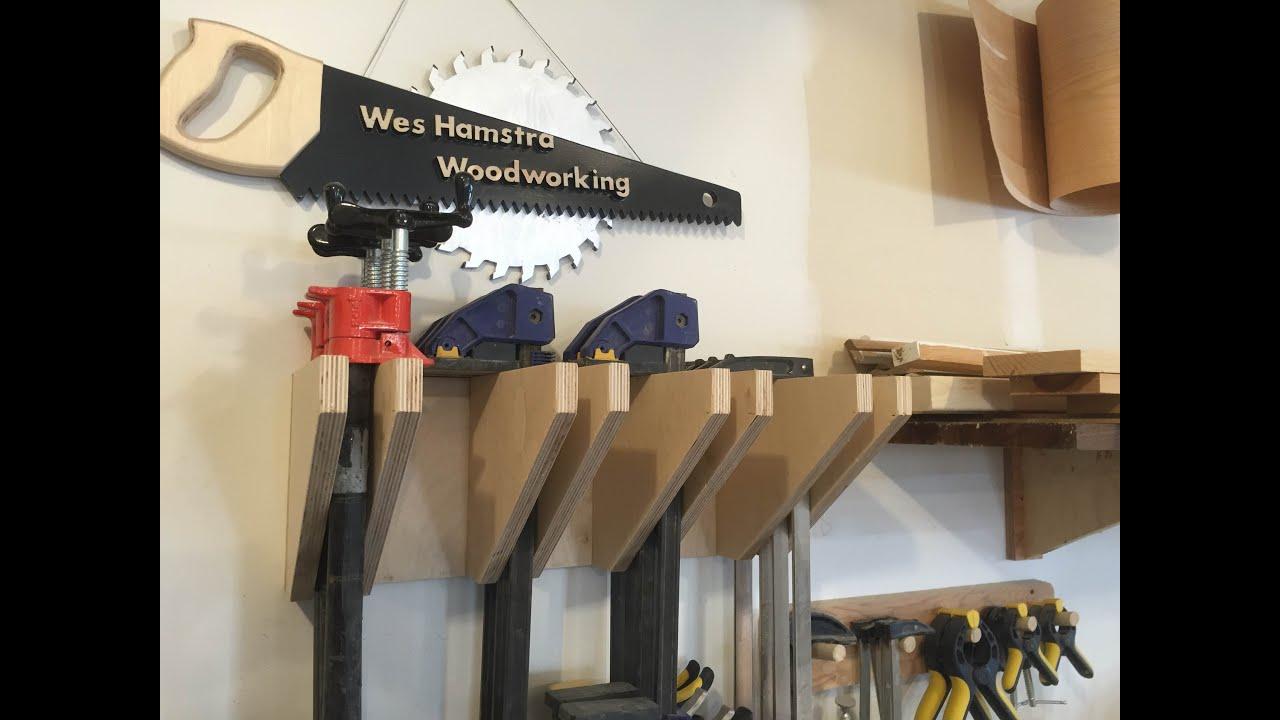 Easy To Build Diy Clamp Rack