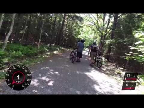 Biking at Acadia National Park