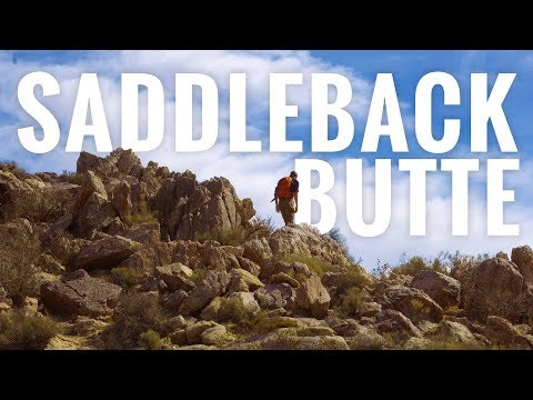 Saddleback Butte in 4K | SoCal Mojave Hiking in Los Angeles